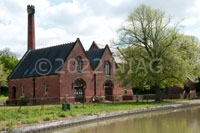 The old Quarry Lane pumping station, now a private residence