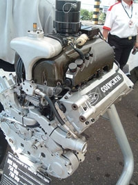 Cosworth V8 engine for Champ Car races in 2004