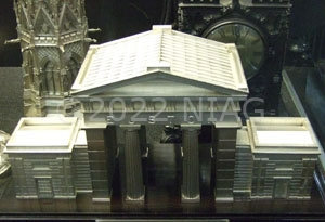 Model of Euston Arch seen in the National Railway Museum, York